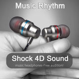 Earphone Shock 4D Sound