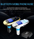Bluetooth FM Transmitter Modulator Car MP3 Player AUX Audio