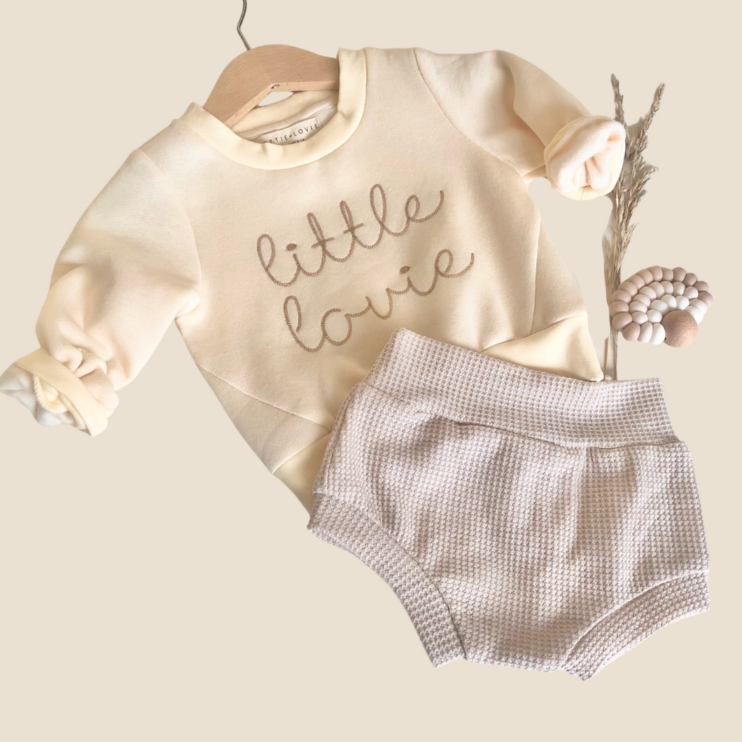Little Lovie Embroidered Tee