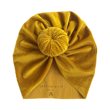 Load image into Gallery viewer, Top Knot Turban