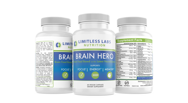 Brain Hero + Brain Calm Combo