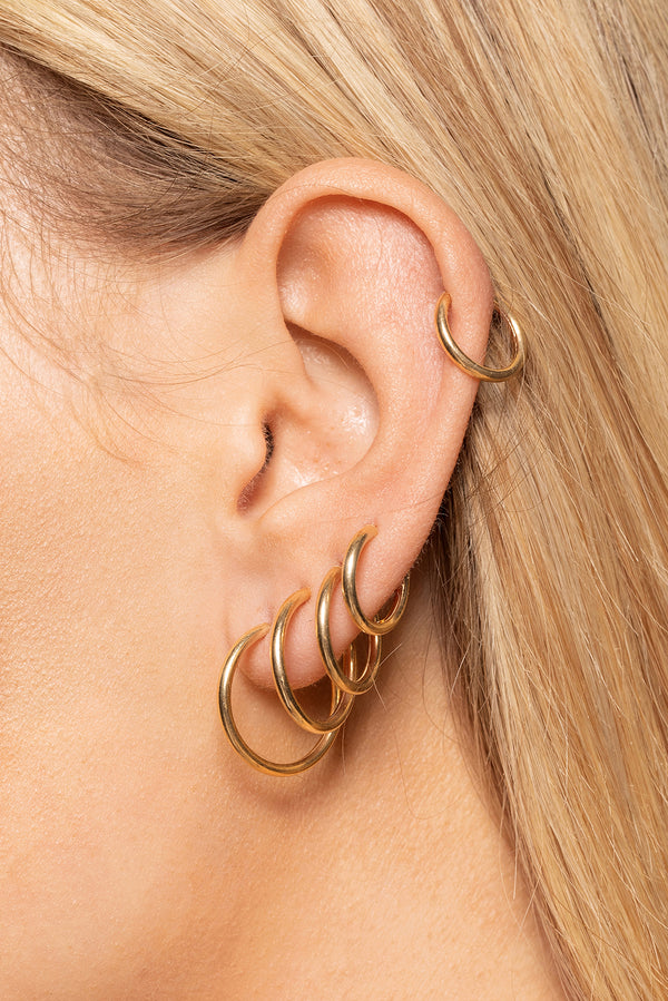 THREAD HOOPS (XS)