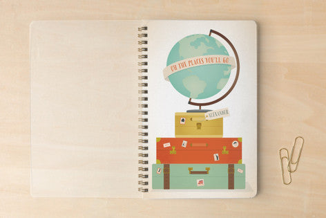 Oh the Places You'll Go Notebook Minted