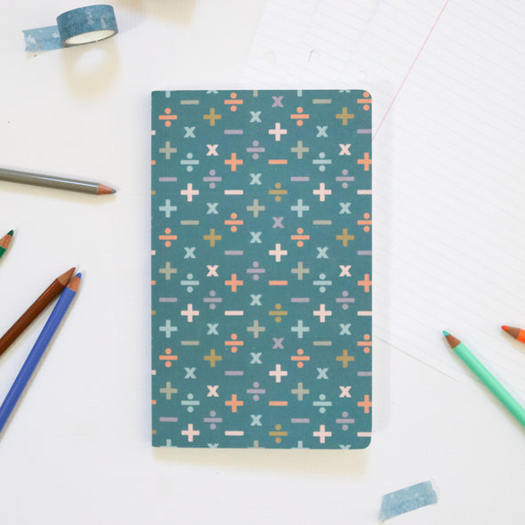 Nerdy Math Gift | Modern Math Notebook with Graph Paper | Pretty Nerdy Press