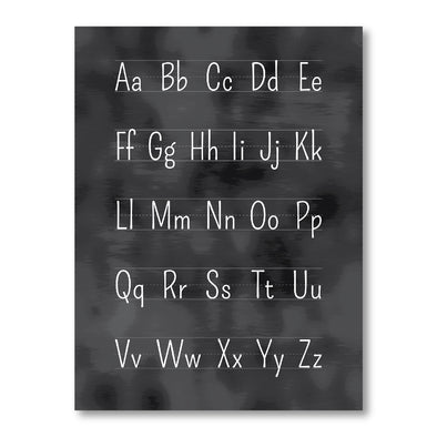 Blackboard Alphabet Poster for Homeschool and Classroom | Educational Posters | Pretty Nerdy Press