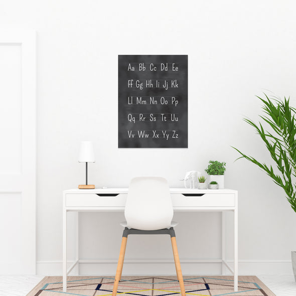 Educational Poster Set with Alphabet Chart for Lower Elementary School | Pretty Nerdy Press