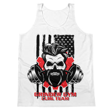 Load image into Gallery viewer, GRINDER GYM CURL TEAM - Unisex Tank Top
