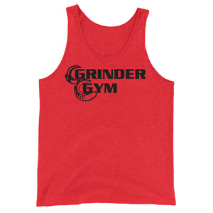 GRINDER GYM: Unisex Tri-blend Tank Top