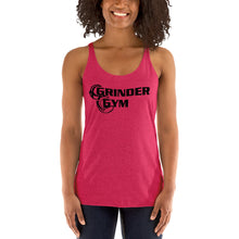 Load image into Gallery viewer, GRINDER GYM: Ladies' Tri-blend Racerback Tank