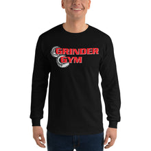 Load image into Gallery viewer, GRINDER GYM: Men's 100% Jersey Knit Long Sleeve T-Shirt