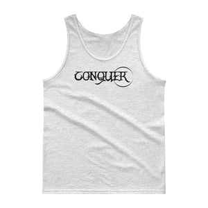 CONQUER: Men's 100% Jersey Knit Tank Top