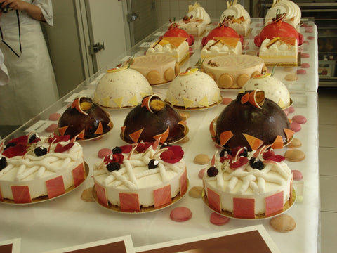 Ice cream cakes at Bellouet Conseil