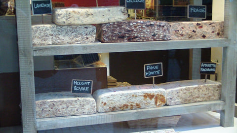 Loaves of Nougat in Bruges