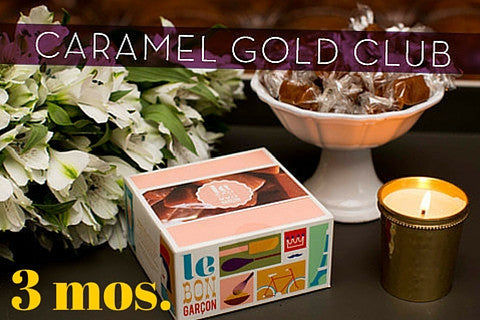 Caramel Gold - Monthly Food Club -  Makes a great gourmet food gift!
