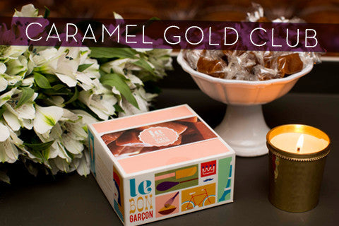 Caramel Gold Club  - Monthly Club Gift Subscription
