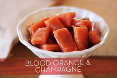 Blood Orange Mimosa Caramels
