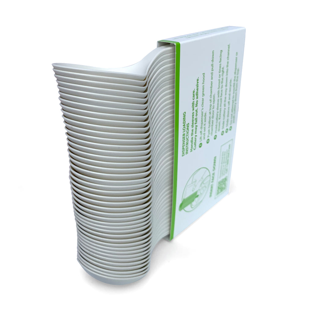 Compostable Medium Weight Soup Spoon - 840 units