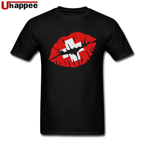 Kiss Switzerland Vintage Brand T-shirt