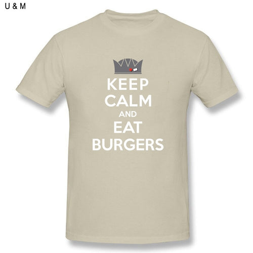 Keep Calm Eat Burgers T-shirt