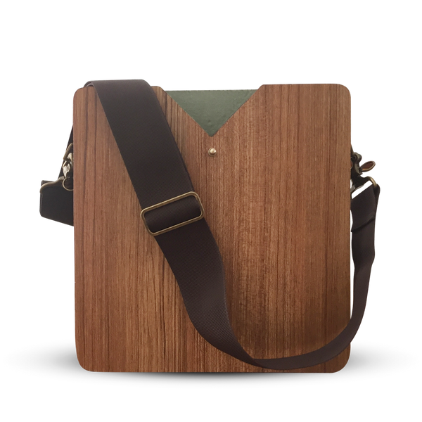 "15"" Laptop Maple Wooden Carrier"
