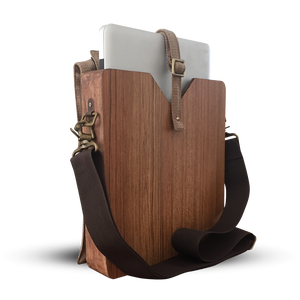 "13"" Laptop Maple Wooden Carrier"