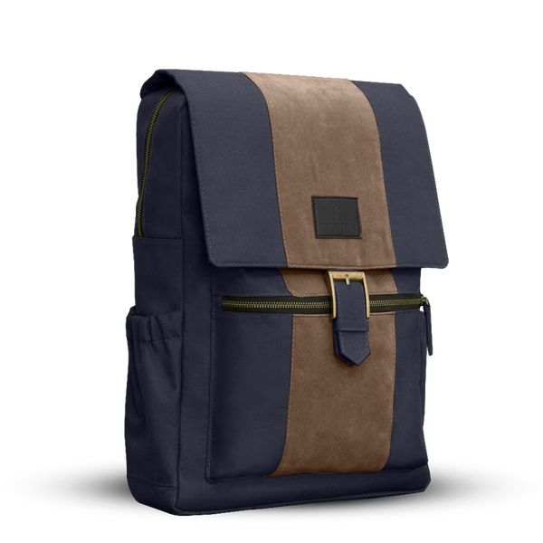 Nightwoods Suede Backpack
