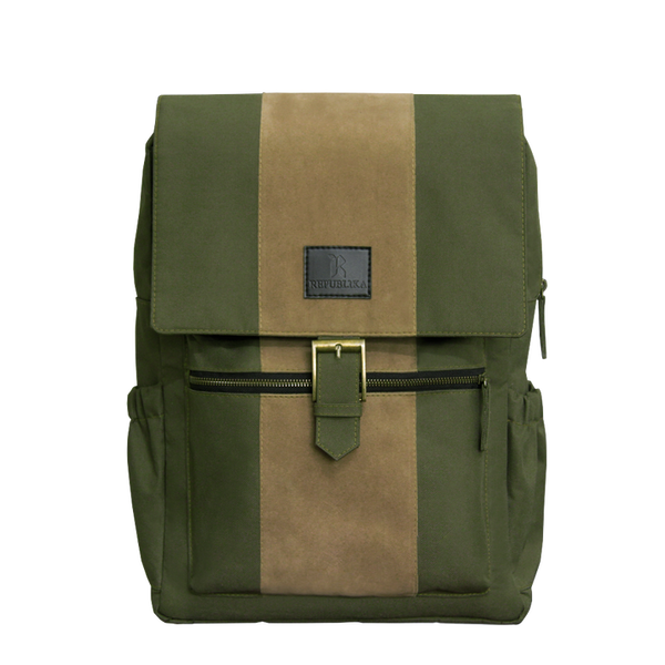 Hunter Suede Backpack