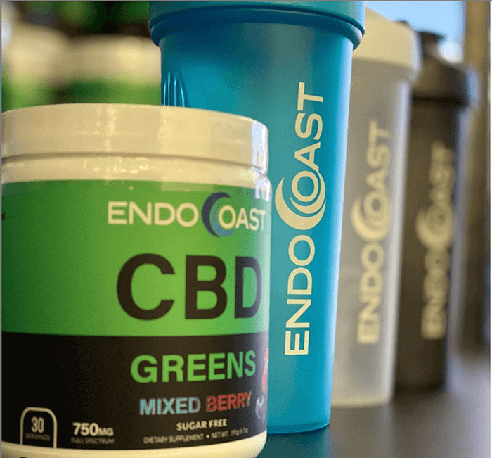 A collection of EndoCoast's CBD products to demonstrate how CBD is made