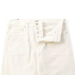 Slim Selvage Jeans  White Bleach used  MP001