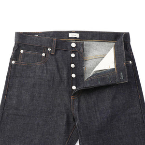 Straight Selvage Jeans  Indigo Rigid  MP002