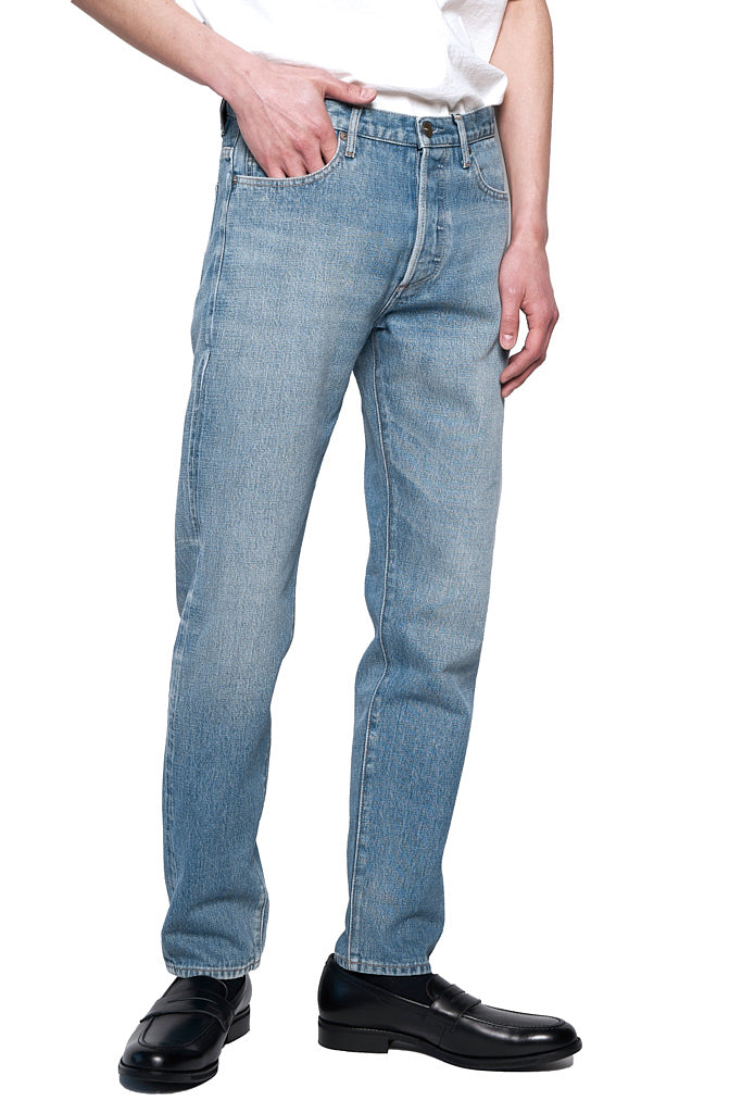Slim Selvage Jeans  Indigo Light Stone  MP001