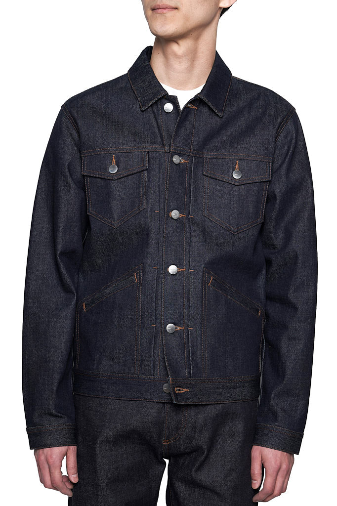 Icon Denim Jacket  Indigo Rigid MJ001