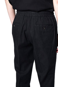 Black Sports Easy Trousers MP006