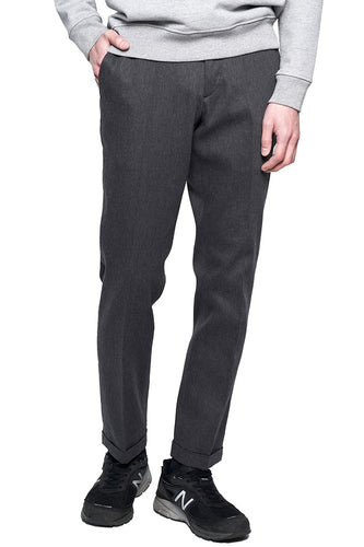 Dark Gray Slim Sports Trousers MP003