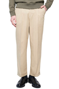 Beige Dress Tack Trousers MP004