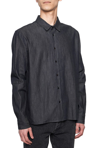Indigo Classic Fit French shirts MS001