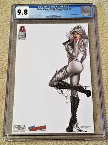 White Widow 1 Absolute Comics Kickstarter Sketch Up East Side Comics Eastside Mike Debalfo Jamie Tyndall Lenticular Variant Cover Exclusive