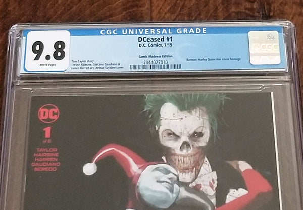 DC Comics East Side Comics Eastside Harley Quinn Batman Batman Who Laughs Marvel Comics DCeased 1