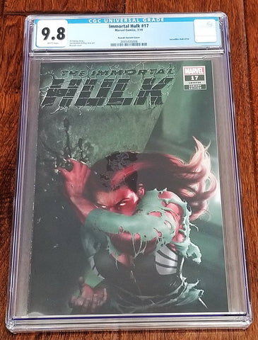 Immortal Hulk 17 Marvel Comics East Side Comics Eastside Razzah Incredible Red She-Hulk Virgin Variant Cover Exclusive Comicxposure