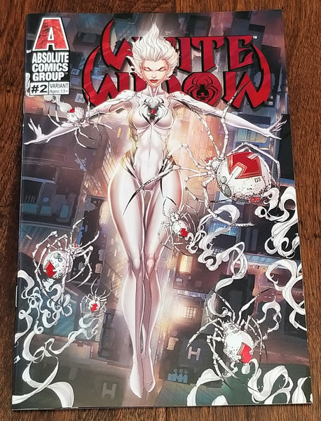 WHITE WIDOW 2 JAMIE TYNDALL NIGHTFALL RED FOIL KICKSTARTER VARIANT-F