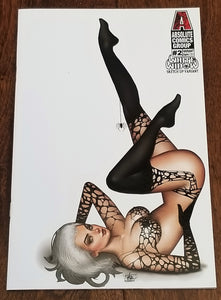 WHITE WIDOW 2 NATHAN SZERDY SKETCH-UP BOMBSHELL KICKSTARTER VARIANT-R