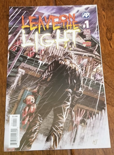 East Side Comics Eastside Turn on the Light #1 Hutchinson Antarctic Press Small Press CGC