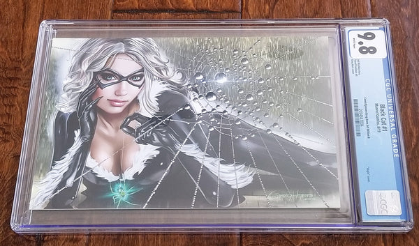 Black Cat 1 Marvel Comics East Side Comics Eastside Amazing Spider-man Spider Ham Greg Horn Virgin Variant Cover Exclusive Comicxposure