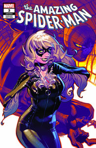 AMAZING SPIDER-MAN #3 CHRIS STEVENS TERRIFICON BLACK CAT VARIANT