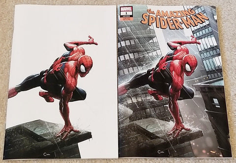 AMAZING SPIDER-MAN #1 CLAYTON CRAIN EXCLUSIVE VARIANTS 1st KINDRED