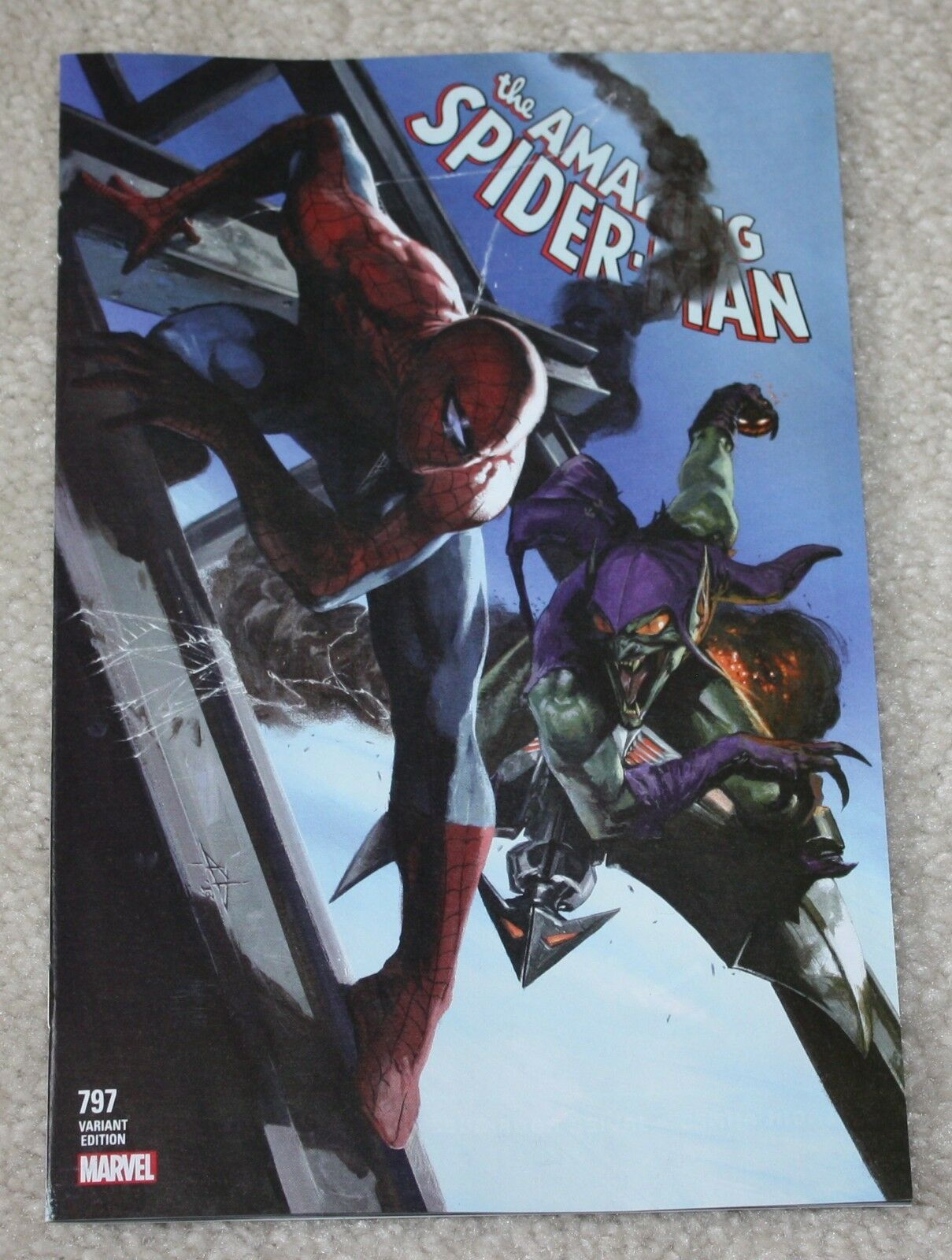 AMAZING SPIDER-MAN #797 GABRIELLE DELL OTTO LOGO EXCLUSIVE VARIANT RED GOBLIN