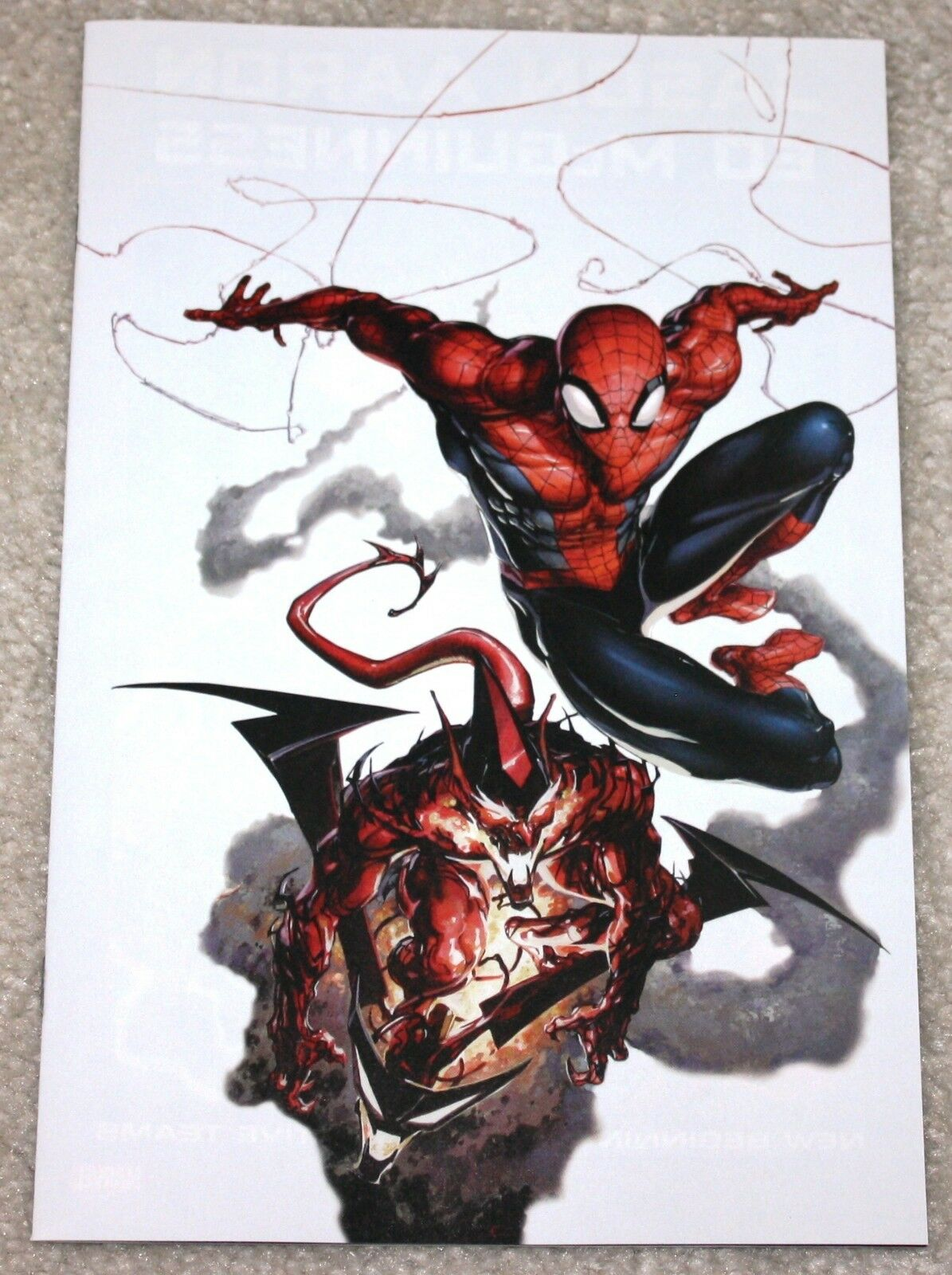 AMAZING SPIDER-MAN #798 CLAYTON CRAIN WHITE VIRGIN EXCLUSIVE VARIANT 1st RED GOBLIN