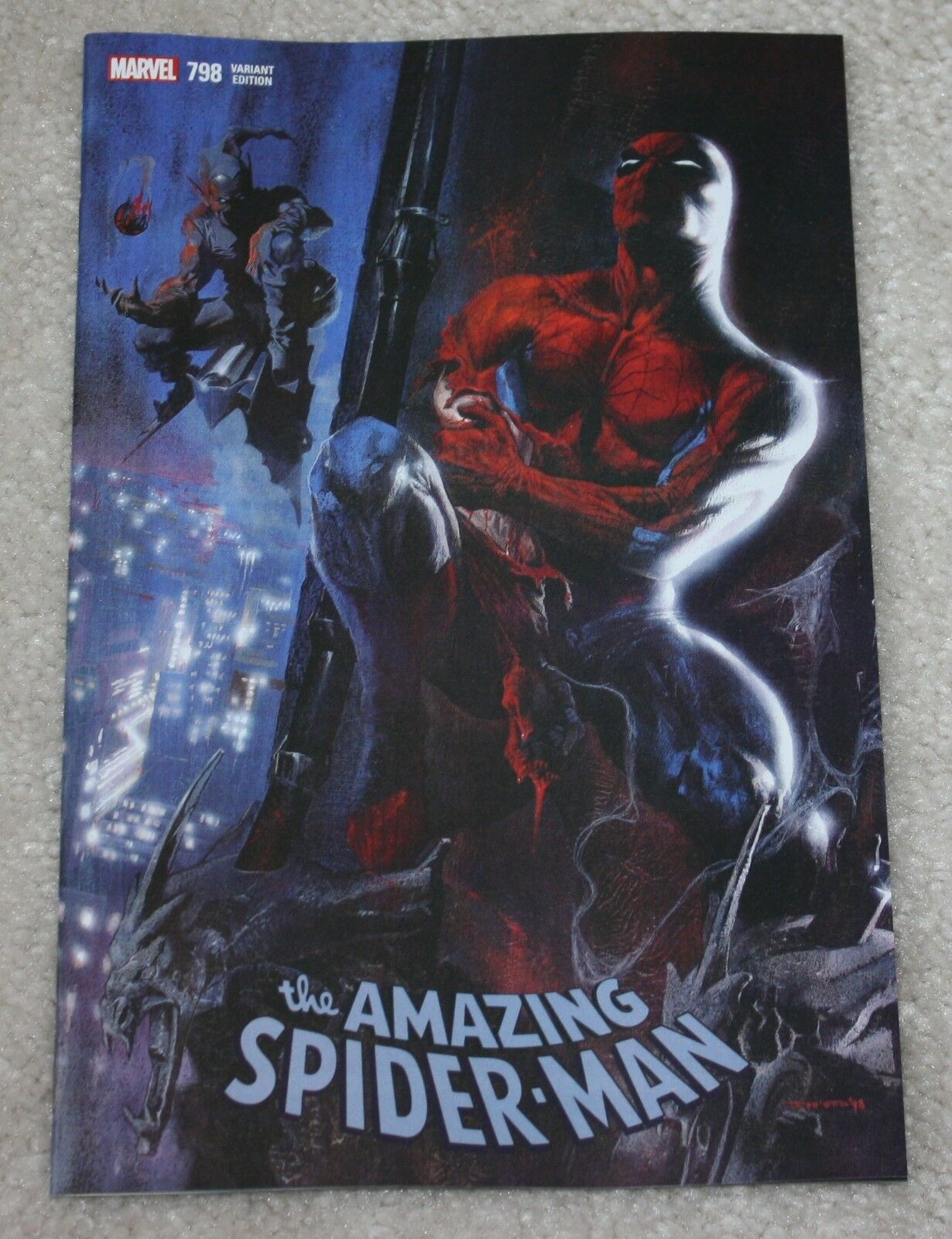 AMAZING SPIDER-MAN #798 GABRIELLE DELL OTTO LOGO EXCLUSIVE VARIANT 1st RED GOBLIN