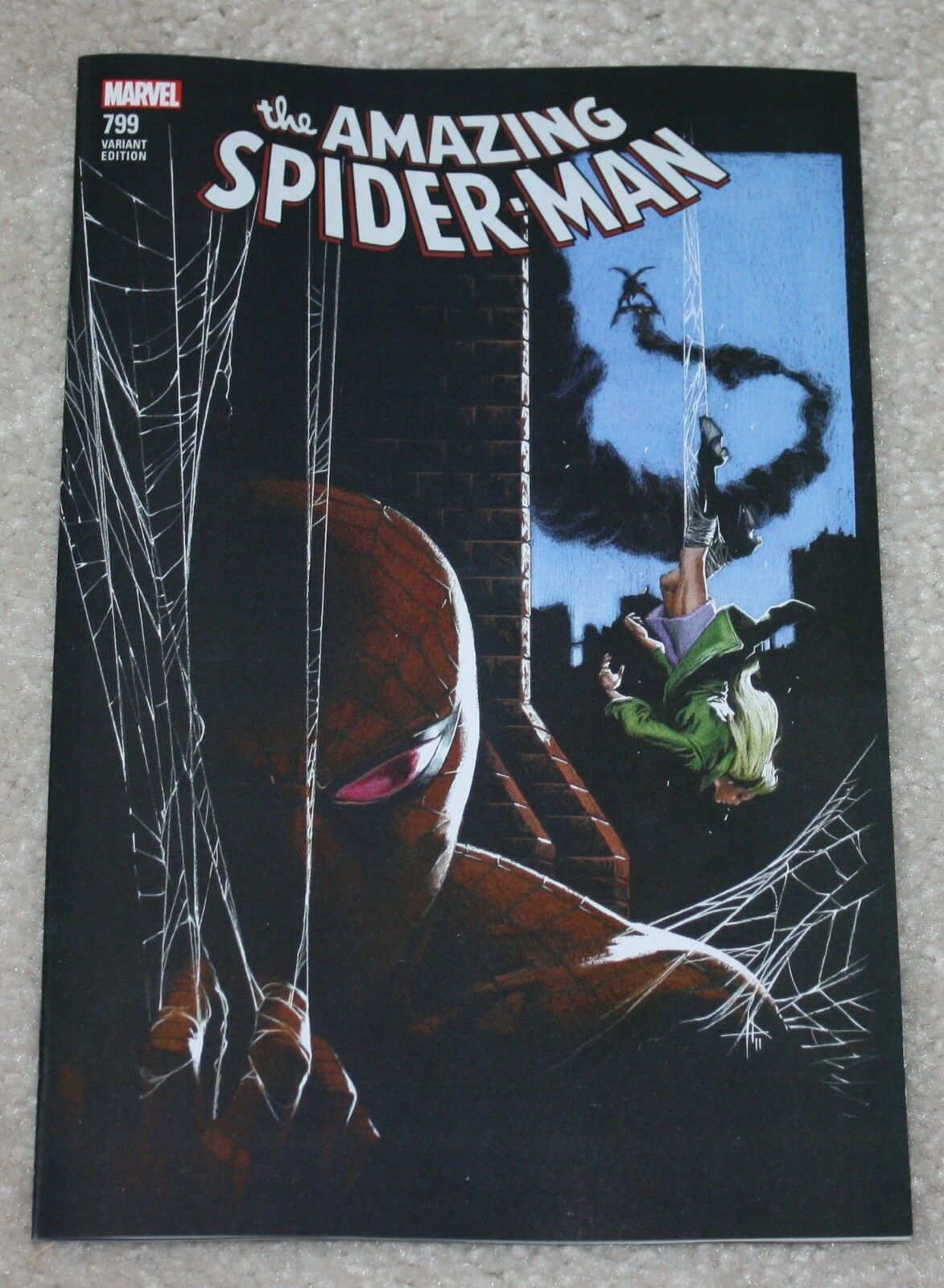 AMAZING SPIDER-MAN #799 GABRIELLE DELL OTTO LOGO EXCLUSIVE VARIANT RED GOBLIN