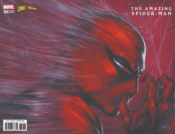 AMAZING SPIDER-MAN #800 GABRIELLE DELL OTTO LOGO EXCLUSIVE VARIANT RED GOBLIN
